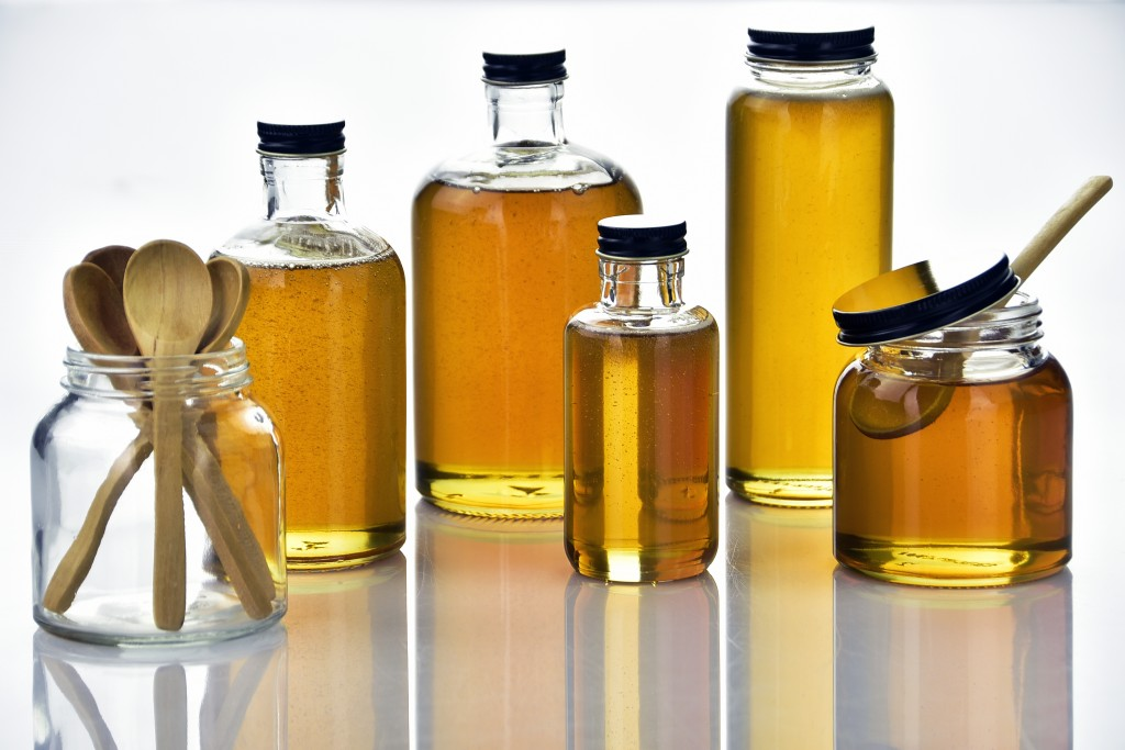 honey packaging - glass bottles and jars