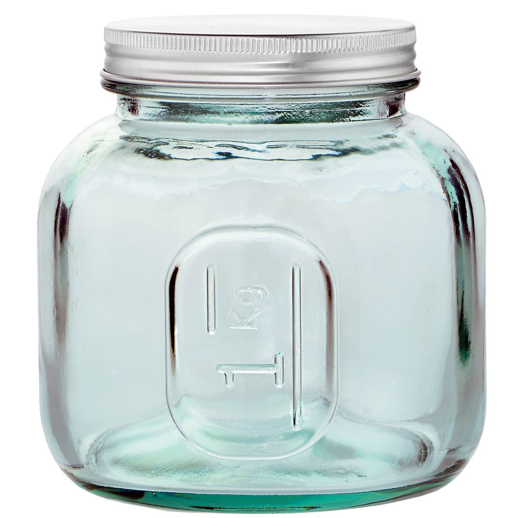 The Large Euro Gl Jars Make A Charming Container For Packaging Your Products Three Sizes Offer Ample Capacity In 6 Liter 202 9oz