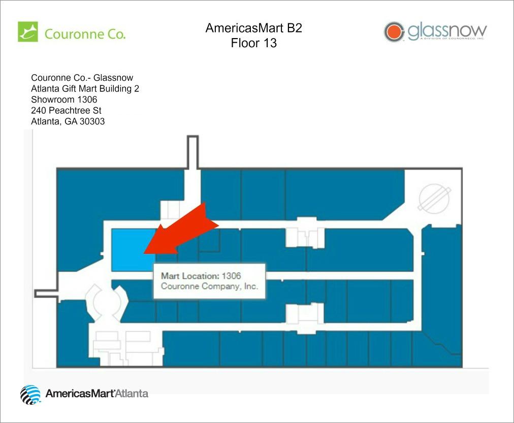 Americasmart Atlanta Map.Atlanta Showroom Map 3 Glassnow