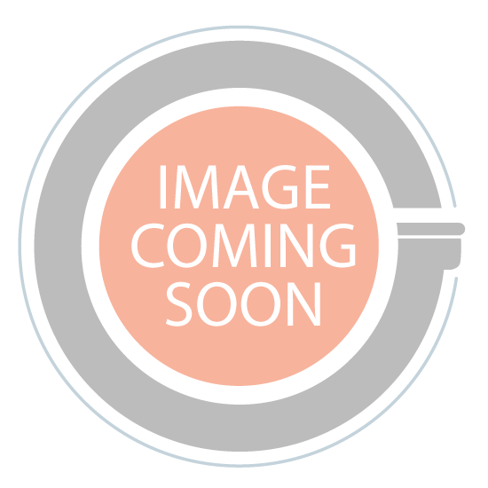 8.5oz square candle glass container fuchsia - case of 12