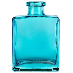 5oz rio glass bottle aqua no cork - case of 12