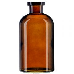 8oz apothecary glass bottle dark amber