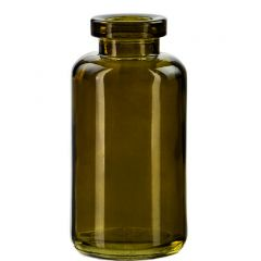 3.4oz apothecary vintage green no cork - case of 12