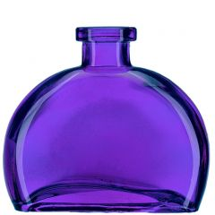 6oz fiji glass bottle violet no cork - case of 12