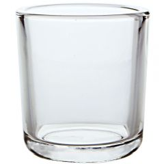 8.5oz heavy glass votive