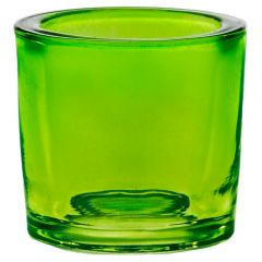 2.5oz heavy glass votive lime