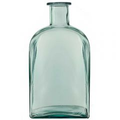 """15"""" Rectangle Recycled Glass Bottle without Cork"""
