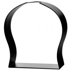 metal arched ball glass bottle stand