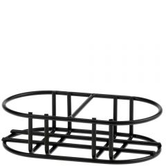 """5 3/4"""" classico double bottle metal stand"""