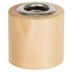 wood top for reed diffuser for threaded 28/400 bottles