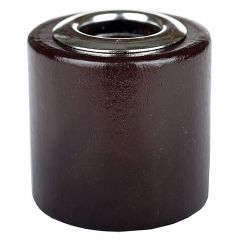 wood top coffee brown for reed diffuser for threaded 28/400 bottles