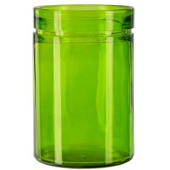 26oz verona glass container lime - case of 12