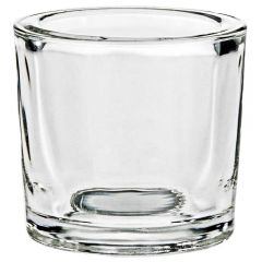 2.5oz heavy glass votive - case of 12