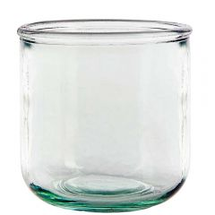 10oz classico recycled glass candle container - case of 6