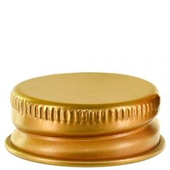 screw cap 24-400 aluminum gold with PE liner