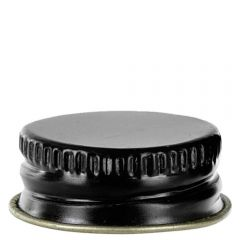 screw cap 24-400 black finish with with F-217 - case of 48