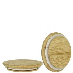 Natural bamboo lid for 6193 - case of 48