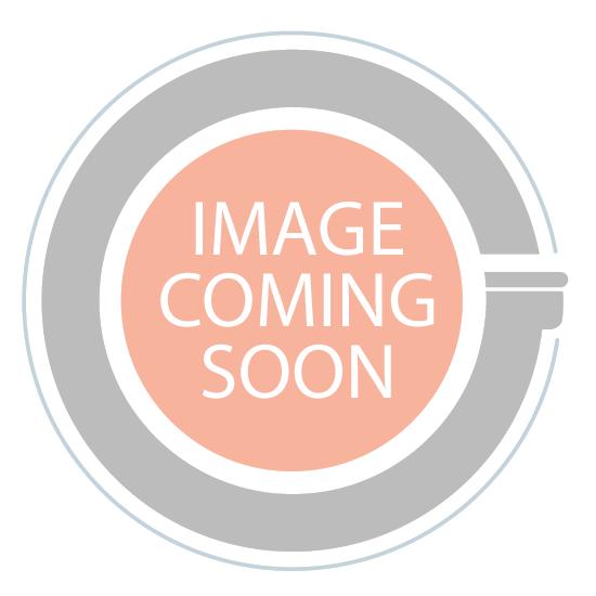 8.5oz square glass jar taupe no cork - case of 12